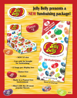 Jelly Belly - $2 Options